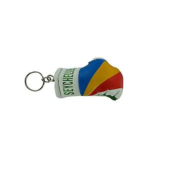 Cle Cles Key Flag Seychelles Boxing Glove Flag