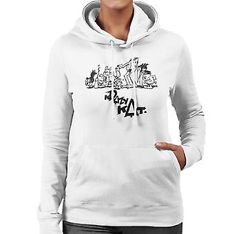 Krazy Kat Group Picture Women's Hooded Sweatshirt