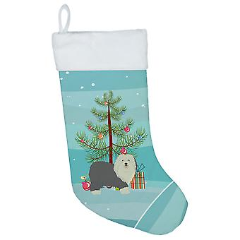 Old English Sheepdog Christmas Tree Christmas Stocking