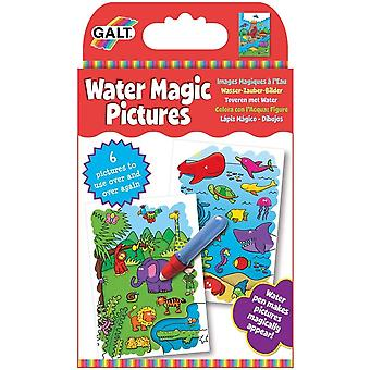 Galt - Water Magic Pictures - Re-usable Colouring Book
