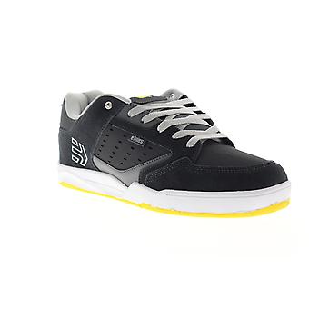Etnies Cartel  Mens Gray Suede & Nubuck Athletic Skate Shoes