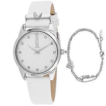 Just Cavalli Women's Vale Silver Dial Watch - JC1L010L0515