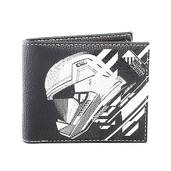Star Wars wallet episode IX Sith Trooper emblem nye offisielle Black bifold