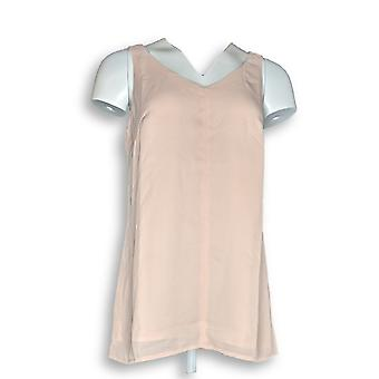 G.I.L.I. got it love it Women's Top Sleeveless V-Neck Tunic Pink A264749