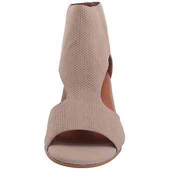 Gentle Souls Women's Charlene 2 Peep Toe T-Strap Mid-Heeled Sandal