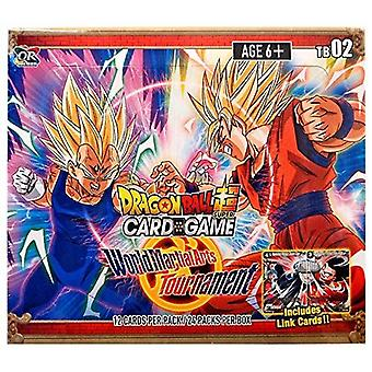 Dragon Ball Super CG Themed Booster TB02 World Martial Arts Tournament (24 Pack)