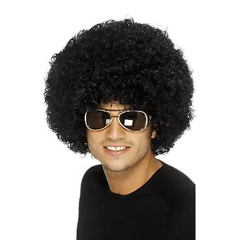 70s Disco Funky Black Afro Wig
