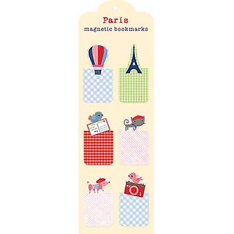 Paris Magnetic Bookmark by Created by Galison & Illustrated by Jillian Phillips