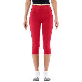 Falke Warming 3/4 Tights - Fruit Punch Red