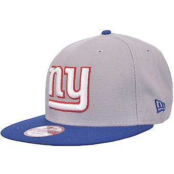New Era Mens New York Giants NFL 9FIFTY Snapback Baseball Cap Hat - Grey - S/M