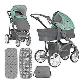 Lorelli stroller 3 in 1 Arizona baby carrier baby bump sports seat, changing bag