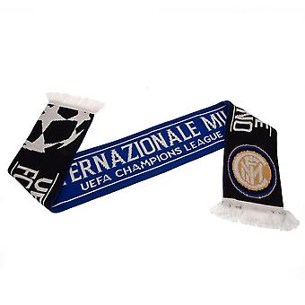 FC Inter Milan Champions League skjerf