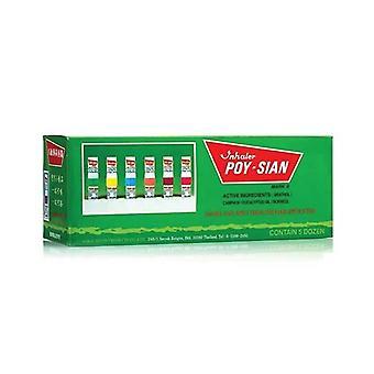 60X Poy Sian Nasal Herbal Inhaler Box Menthol