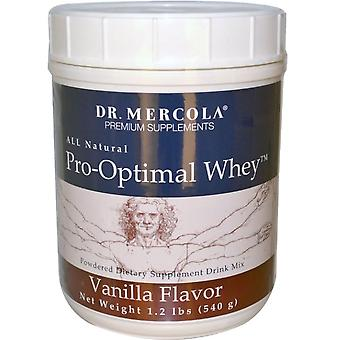 Pro-optimálna srvátková vanilková príchuť (540 gram)-Dr. Mercola
