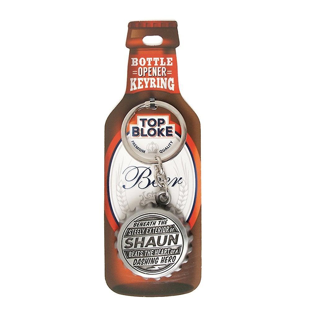 History & Heraldry Keyring - Shaun Bottle Opener