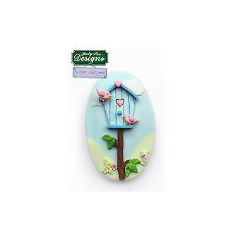 Katy Sue Designs Katy Sue - Pulsanti di zucchero - Birdhouse