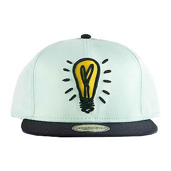 Monopoly Baseball Cap Icons Light Bulb Logo new Official Blue Snapback