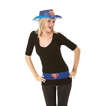 Supergirl Womens/Ladies Logo Belt