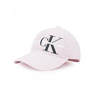 Calvin Klein Jeans Mongram gestreepte logo cap