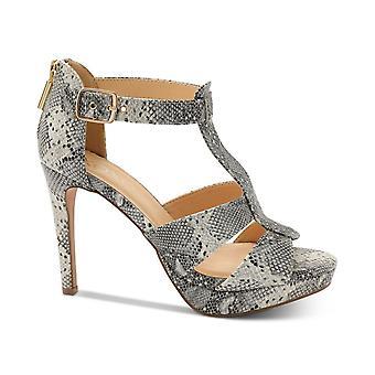 Xoxo mujeres Belinda plataforma vestido sandalias de cuero Peep Toe Ocasión especial ...