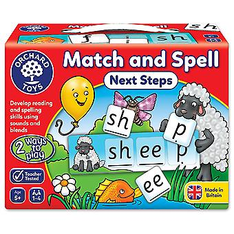 Orchard Toys - Match and Spell Next Steps Board Game