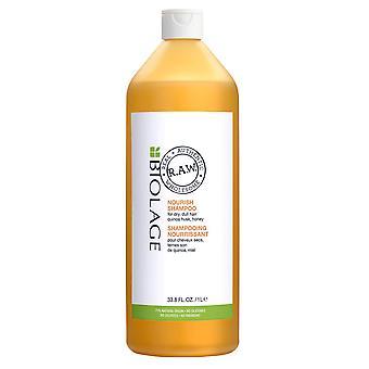 Matrix Biolage R.A.W. Nourish Shampoo RAW 1000ml for Dry, Dull Hair