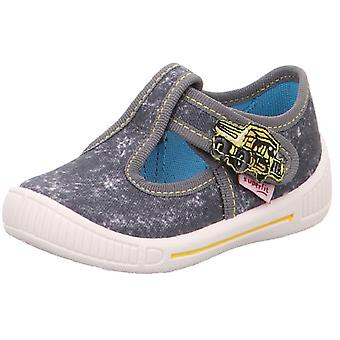 Superfit Boys Bully 265-20 Canvas Shoes Grey