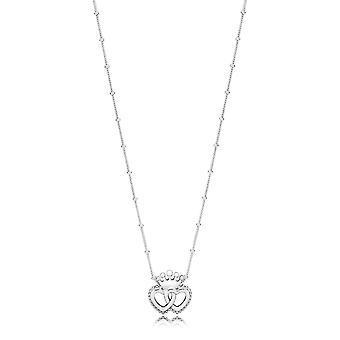 PANDORA Verenigd Regal harten ketting - 397719-45