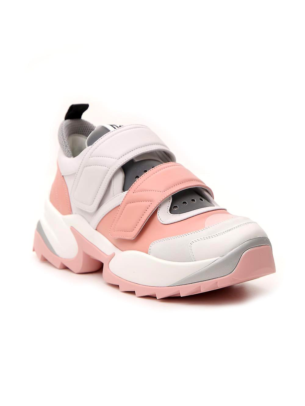 Sergio Rossi A89430mfn8975628 Women-apos;s Pink Leather Sneakers - Remise particulière