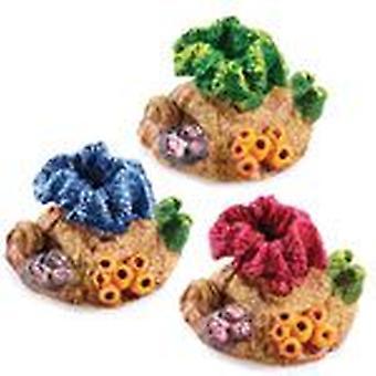 Classic For Pets Mini Coral Asst 70mm 6pcs (Fish , Decoration , Ornaments)