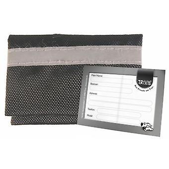 Trixie Portadirección Bag Nylon, Reflective, 5.5 × 4 Cm