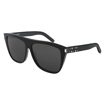 Saint Laurent SL 1 023 Black/Grey Sunglasses