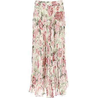 P.a.r.o.s.h. D620367802 Dames's Multicolor Polyester Skirt