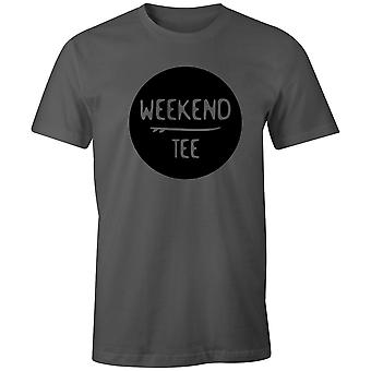 Boys Crew Neck Tee Short Sleeve Men's T Shirt- Weekend Tee