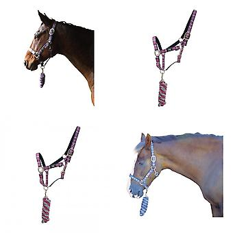 Hy Tartan Head Collar with Lead Rope