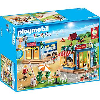 Playmobil 70087 Family Fun Large Campground 222PC Playset