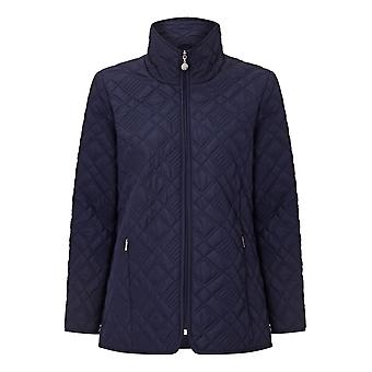 PENNY PLAIN Navy Quilted Jacket