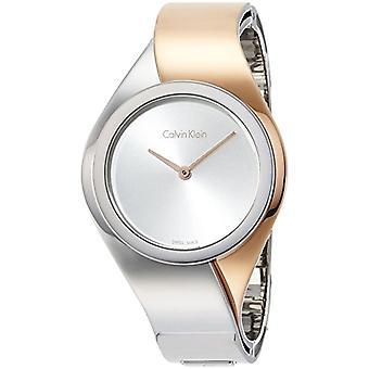 Calvin Klein women's Quartz digital watch with stainless steel band K5N2S1Z6