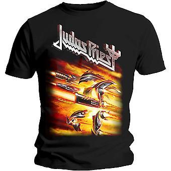 Judas Priest Firepower Album Officiel Tee T-Shirt Unisex