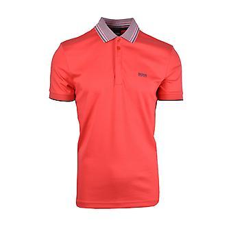 BOSS Athleisure Boss Paddy 1 Polo Shirt Brick Red