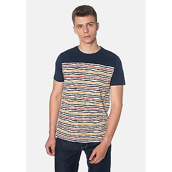 Merc BOWMAN, Multi Colour Stripes Men's T-Shirt
