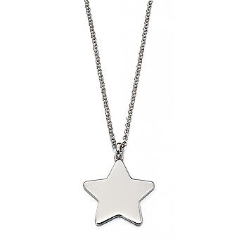 Little Star Victoire Silver Star Dames Ketting