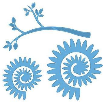 Marianne Design Creatables Cutting Dies - Branch With Flower 2 LR0257