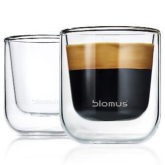 Blomus Thermo Glasses Espresso Glasses NERO 2-Piece Set