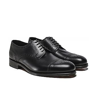Loake Leather Nuffield Derby Shoes