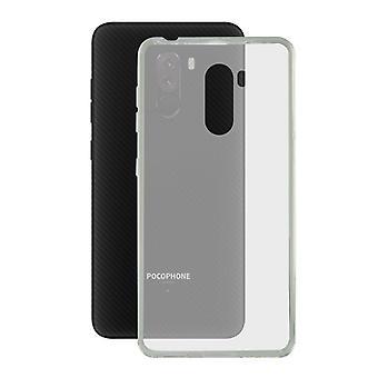 Mobile kansi Pocophone F1 KSIX Flex TPU läpinäkyvä