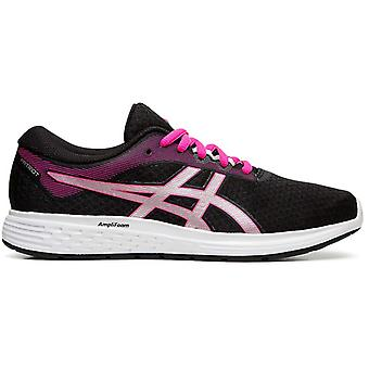 Asics Patriot 11 Femmes Running Exercice Fitness Trainer Chaussure noire/rose