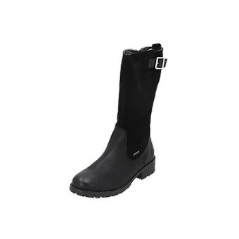 Superfit HEEL Kids Girls Boots Black Lace-Up Boots Winter