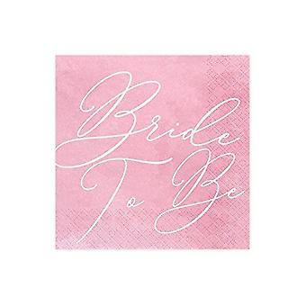 Paper Party Napkins Bride to be Pack of 20 Hen Party 33 x 33cm