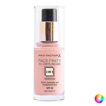Liquid Make Up Base Face Finity 3 In 1 Max Factor/100 - suntan